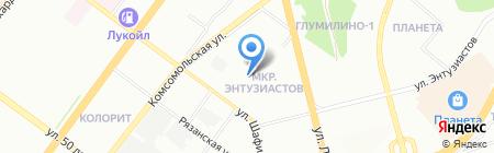 Детский сад №34 на карте Уфы