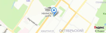 Комплайн на карте Уфы