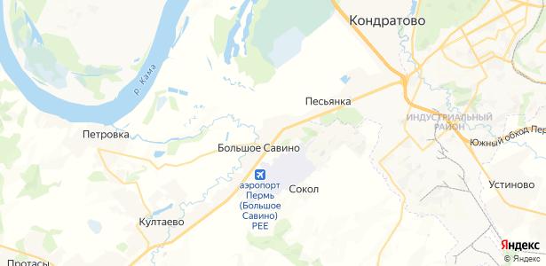 Крохово на карте