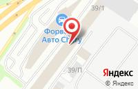 Схема проезда до компании Дамакс в Уфе