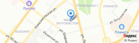 АНОД-Урал на карте Уфы