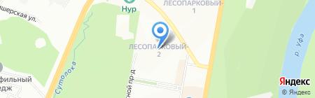 Детский сад №254 на карте Уфы