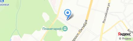 Тандыр House на карте Уфы