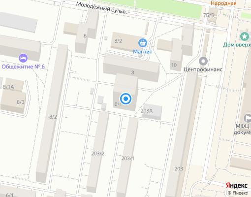 Управляющая компания «КОМПАНИЯ ГЕШЕР» на карте Уфы