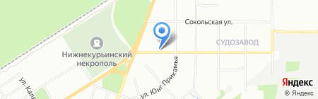 Данко на карте Перми