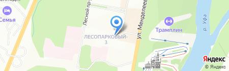 Трэйд Сервис на карте Уфы