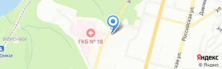 Настя на карте Уфы