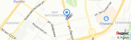 Ариада-Уфа на карте Уфы