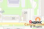Схема проезда до компании Автопрактик в Перми