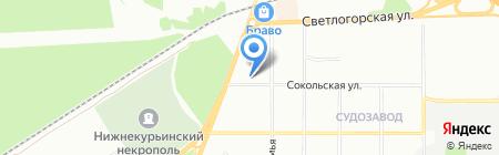 Детский сад №97 на карте Перми