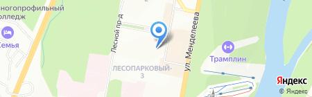Меркурий-СБ на карте Уфы