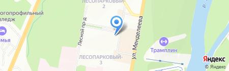 А-тревел на карте Уфы