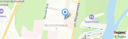 Марийская воскресная школа на карте Уфы