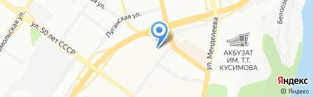 ЭКОКОМ на карте Уфы