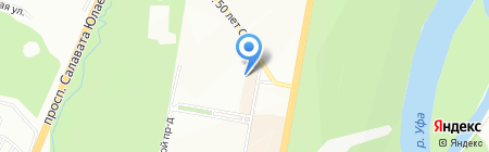 Блеск плюс на карте Уфы