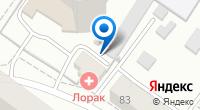 Компания ЛораК на карте