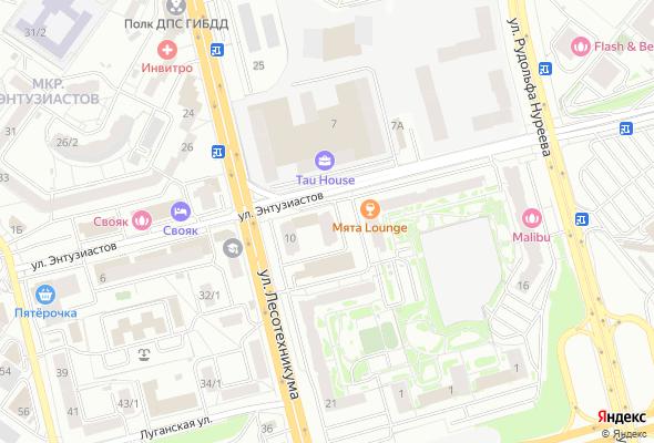 жилой комплекс по ул. Лесотехникума