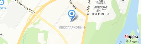 Детская музыкальная школа №13 им. Халика Заимова на карте Уфы