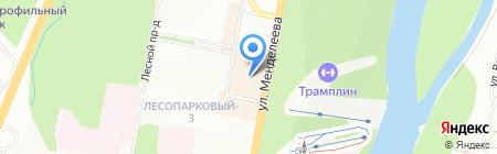Теплушка на карте Уфы