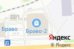 Схема проезда до компании Цветной мир ярких идей в Перми