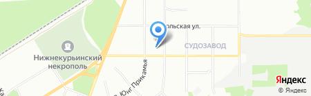 Средняя общеобразовательная школа №19 на карте Перми