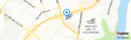 Гранд на карте Уфы