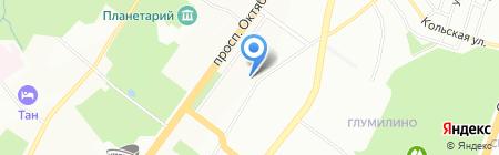 Отдел государственной статистики в г. Уфа на карте Уфы
