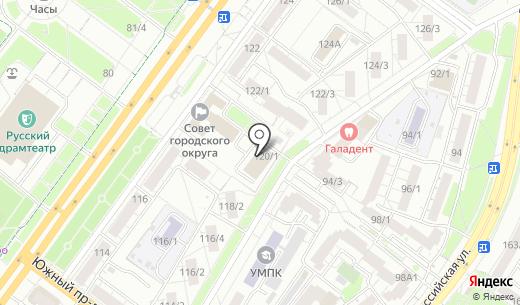 Отдел государственной статистики в г. Уфа. Схема проезда в Уфе
