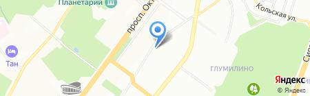 Де Люкс Вояж на карте Уфы