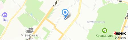 ZEN Servis на карте Уфы