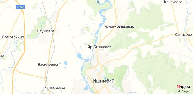 Яр-Бишкадак на карте