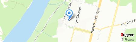 Байрам на карте Уфы