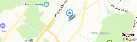 Мегарусс-Д на карте Уфы
