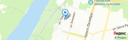 Анжелика на карте Уфы