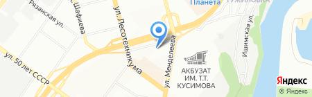 СтройВертикаль на карте Уфы