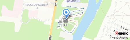 ШИКАДАМ на карте Уфы