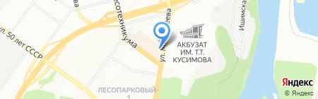Стандарт-защита на карте Уфы