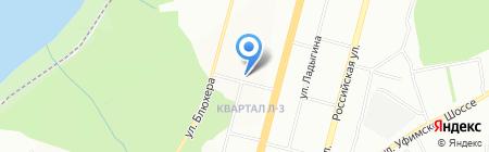 Феникс на карте Уфы