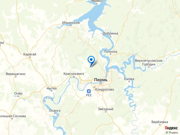 деревня Ильино на карте