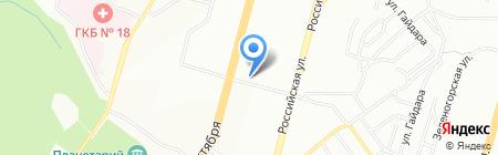 Норма-Дент на карте Уфы