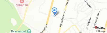 Экопласт на карте Уфы