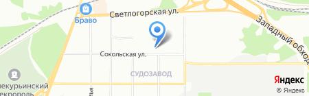 На Сокольской на карте Перми