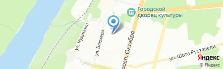 Детский сад №173 на карте Уфы