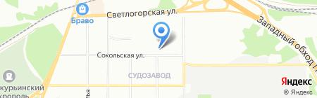 Закамская телефонная компания на карте Перми