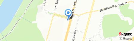 Добрый доктор на карте Уфы