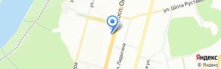 Аптека от склада на карте Уфы