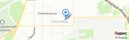 Детский сад №85 на карте Перми