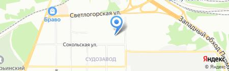 Детская музыкальная школа №8 на карте Перми