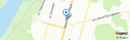 София на карте Уфы