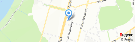 Виртуаль на карте Уфы